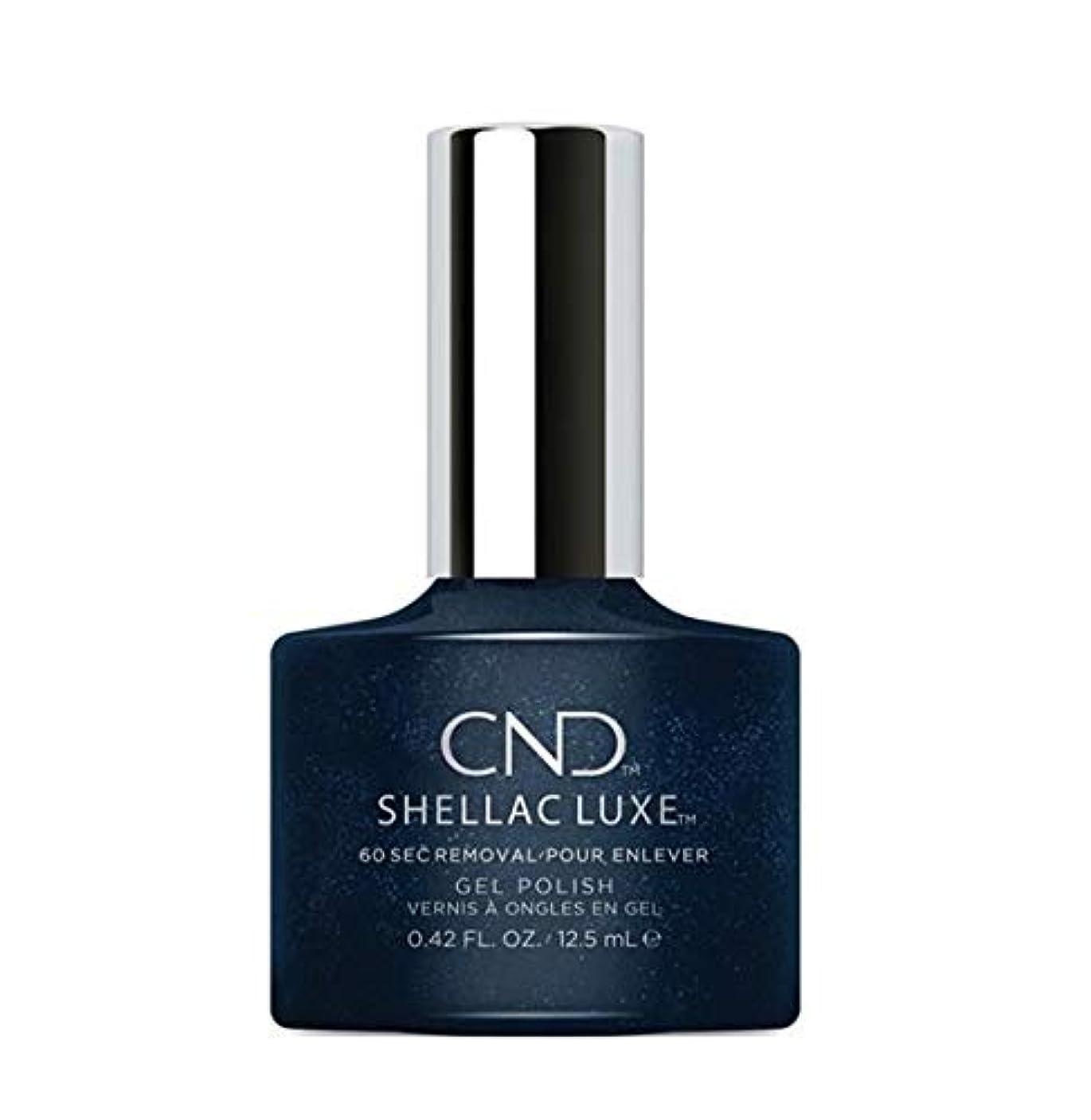 擁する熟練したに向けて出発CND Shellac Luxe - Midnight Swim - 12.5 ml / 0.42 oz