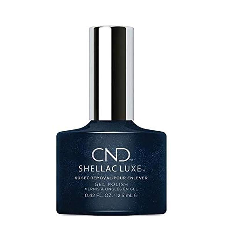 同盟最初は間欠CND Shellac Luxe - Midnight Swim - 12.5 ml / 0.42 oz