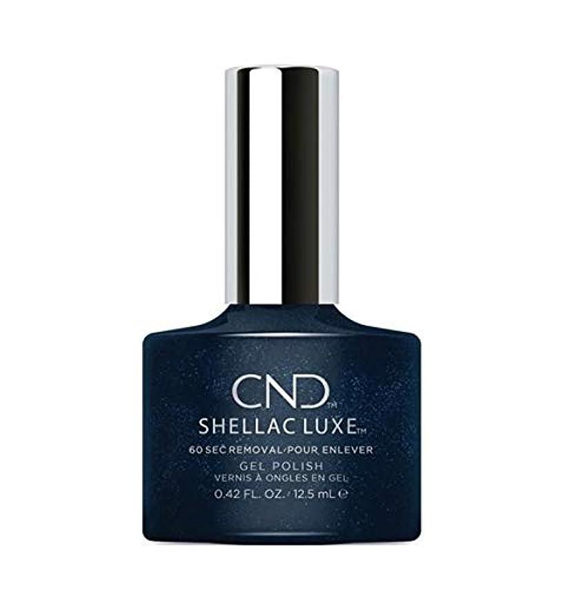 義務付けられた起きて堀CND Shellac Luxe - Midnight Swim - 12.5 ml / 0.42 oz