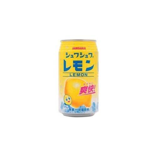 サンガリア シュワシュワレモン 350ml缶×24本