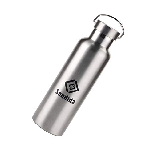Sendida 750ml スポーツボトル ステンレス鋼 水筒 保温 2重 真空断熱 ダブルステンレスボトル