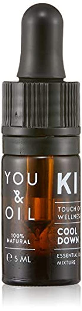 YOU&OIL(ユーアンドオイル) ボディ用 エッセンシャルオイル COOL DOWN 5ml