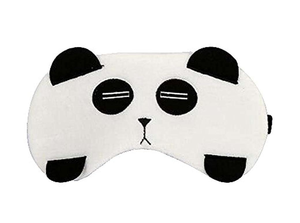 忠実に新鮮な毎週素敵なパンダスタイルのアイマスクパーソナライズされたニースアイシェイド、パンダ
