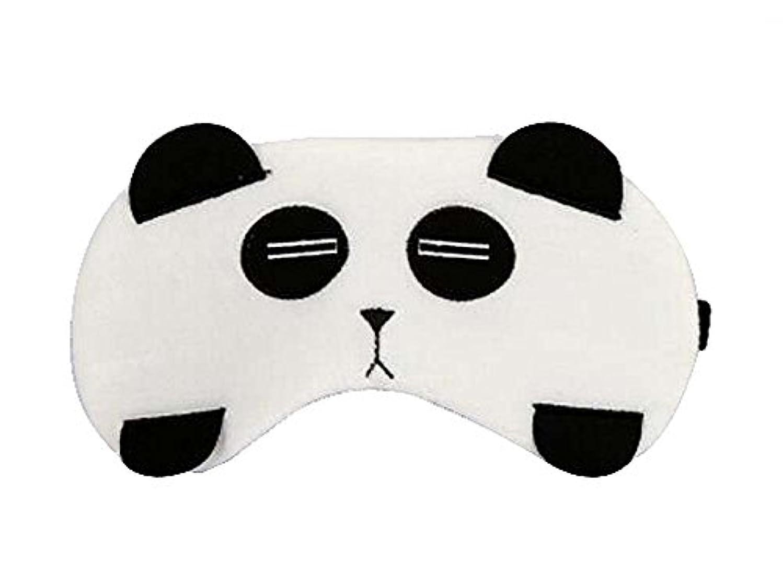 艶倒産受け皿素敵なパンダスタイルのアイマスクパーソナライズされたニースアイシェイド、パンダ