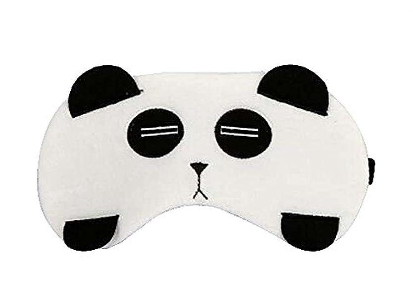 健康的未使用黒素敵なパンダスタイルのアイマスクパーソナライズされたニースアイシェイド、パンダ
