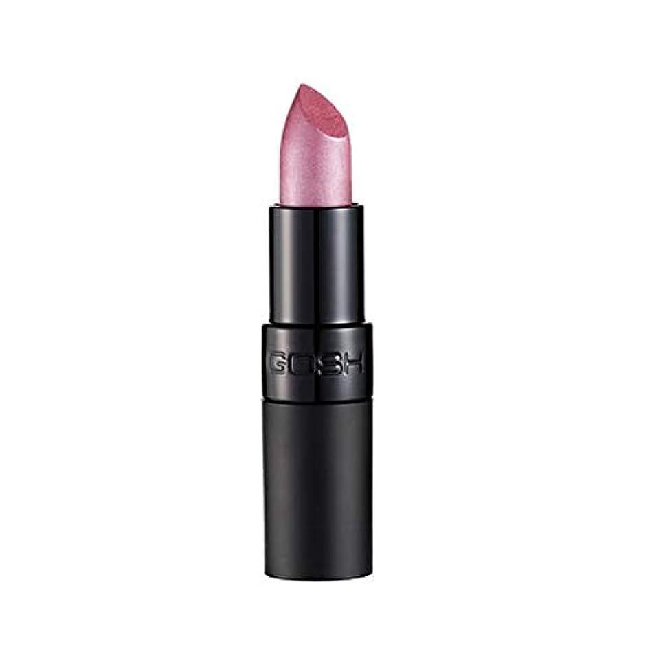 ダウンタウン速報亜熱帯[GOSH ] おやっベルベットタッチ口紅131アメジスト - Gosh Velvet Touch Lipstick 131 Amethyst [並行輸入品]