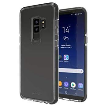 【GEAR4】Samsung Galaxy S9 ケース ブラック 耐衝撃 英国発人気ブランド 英国女王賞受賞のD3Oテクノロジー採用 F1衝撃吸収テスト済 (Galaxy S9、PICCADILLY ブラック)