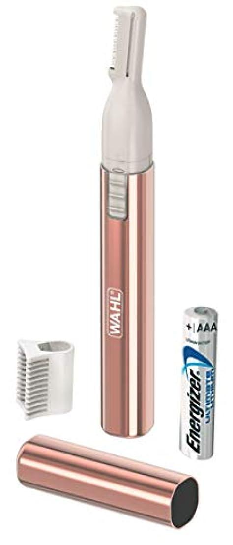 成熟したいろいろ赤面WAHL(ウォール)レディーストリマー(乾電池式トリマー) WP1107