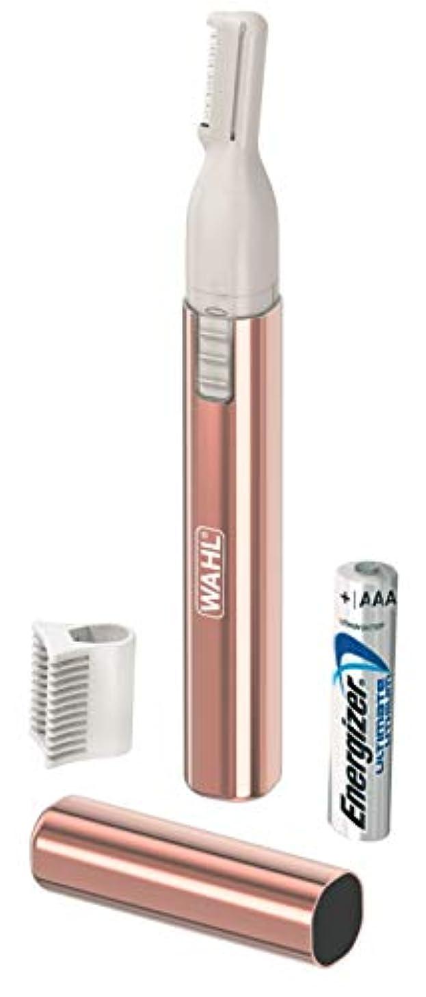 曇った五月浸透するWAHL(ウォール)レディーストリマー(乾電池式トリマー) WP1107