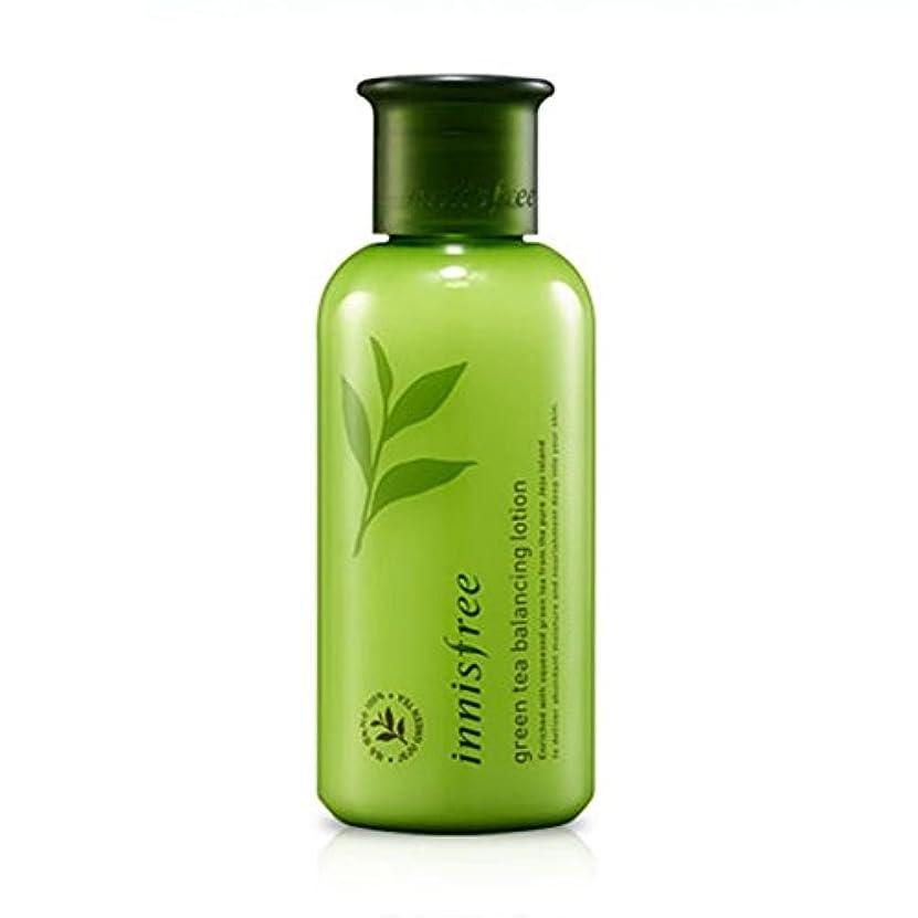 【イニスフリー】 Innisfree Green Tea Balancing Lotion グリーンティーバランシングローション160mL [並行輸入品]