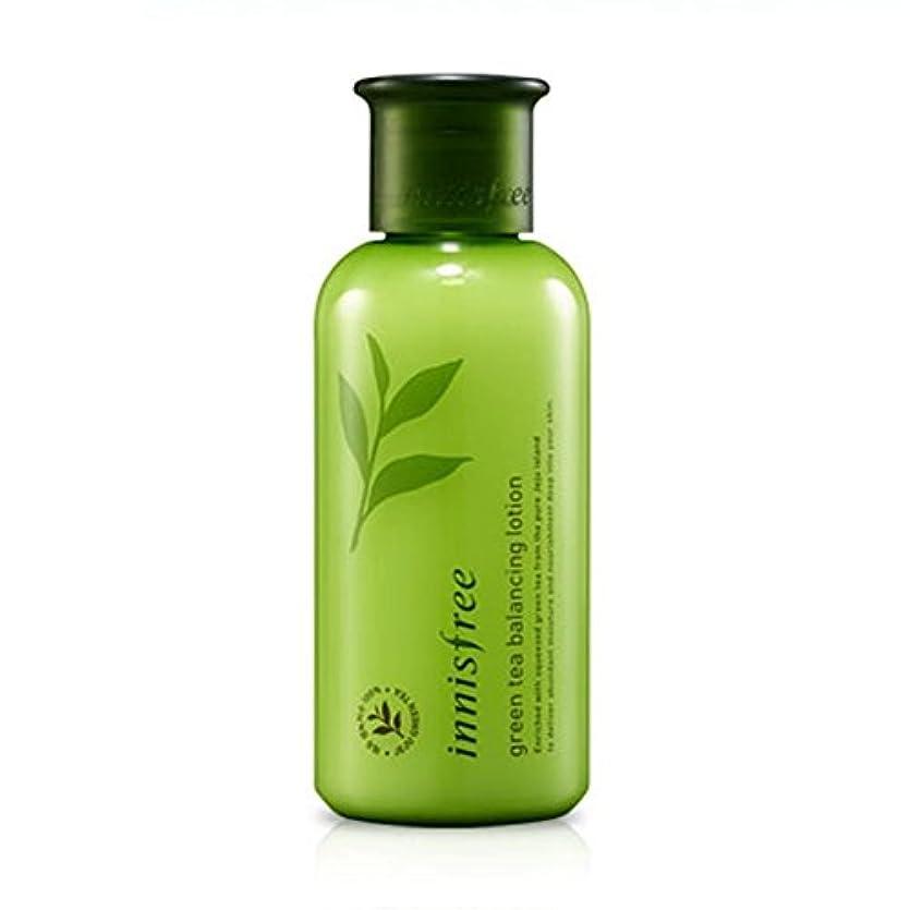 気体の文献種類【イニスフリー】 Innisfree Green Tea Balancing Lotion グリーンティーバランシングローション160mL [並行輸入品]