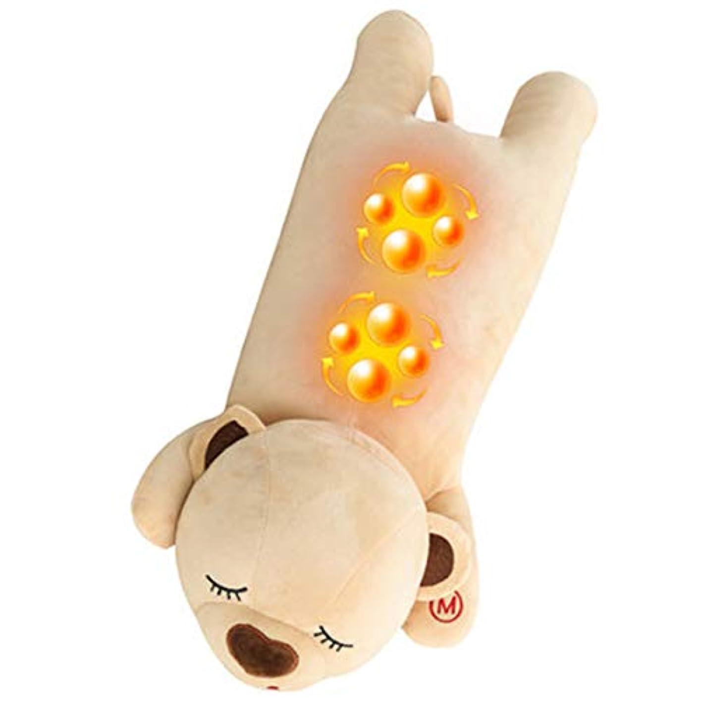 謝るみすぼらしいスイッチ熱のある指圧ネックマッサージ枕-背中、首、肩、脚、足のディープティッシュTみマッサージ-男性/女性/ママ/パパへの完璧なギフト、マッサージギフト