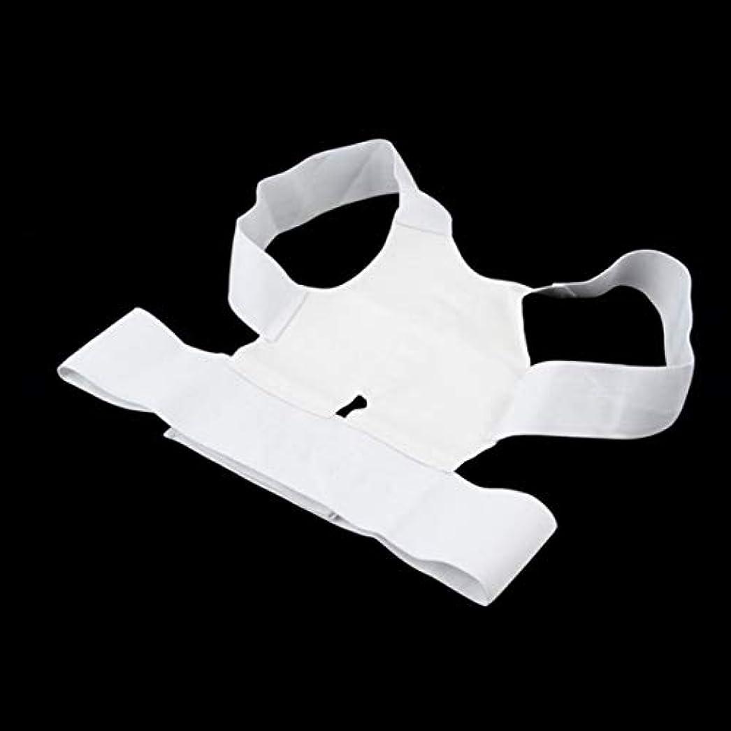 悲しみ不承認乏しいKongqiabona腰椎矯正ベルト磁気姿勢サポート矯正装置バックベルトブレース肩リリース痛み