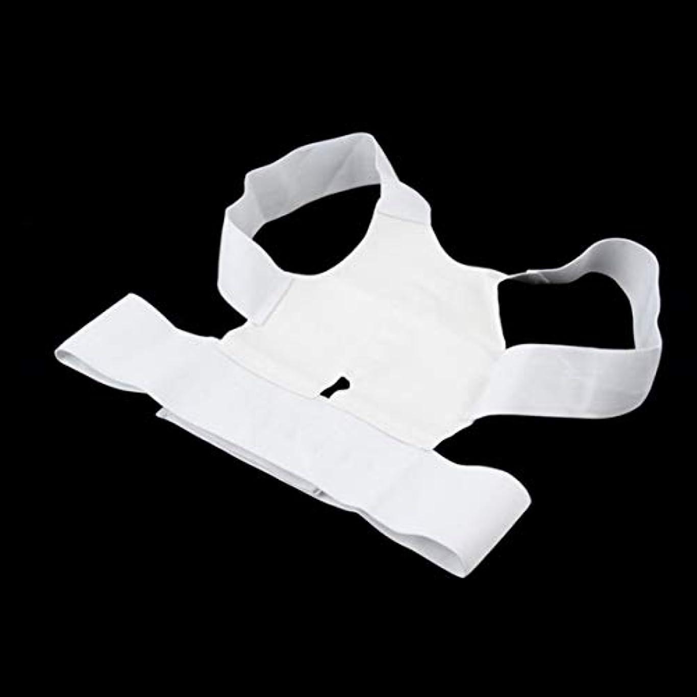 犯罪哲学的色合いKongqiabona腰椎矯正ベルト磁気姿勢サポート矯正装置バックベルトブレース肩リリース痛み