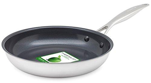 グリーンパン フライパン エバーシャイン シルバー 24cm IH対応