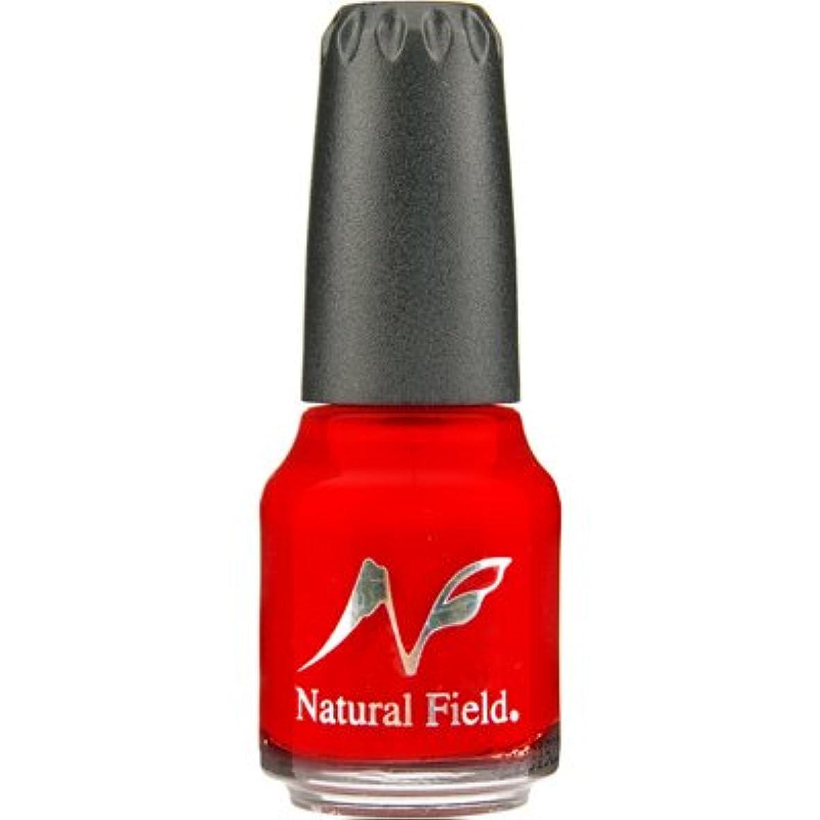 怒ってフレア電気のNatural Field ネイルポリッシュ 2666 5RED(検定カラー) 12ml