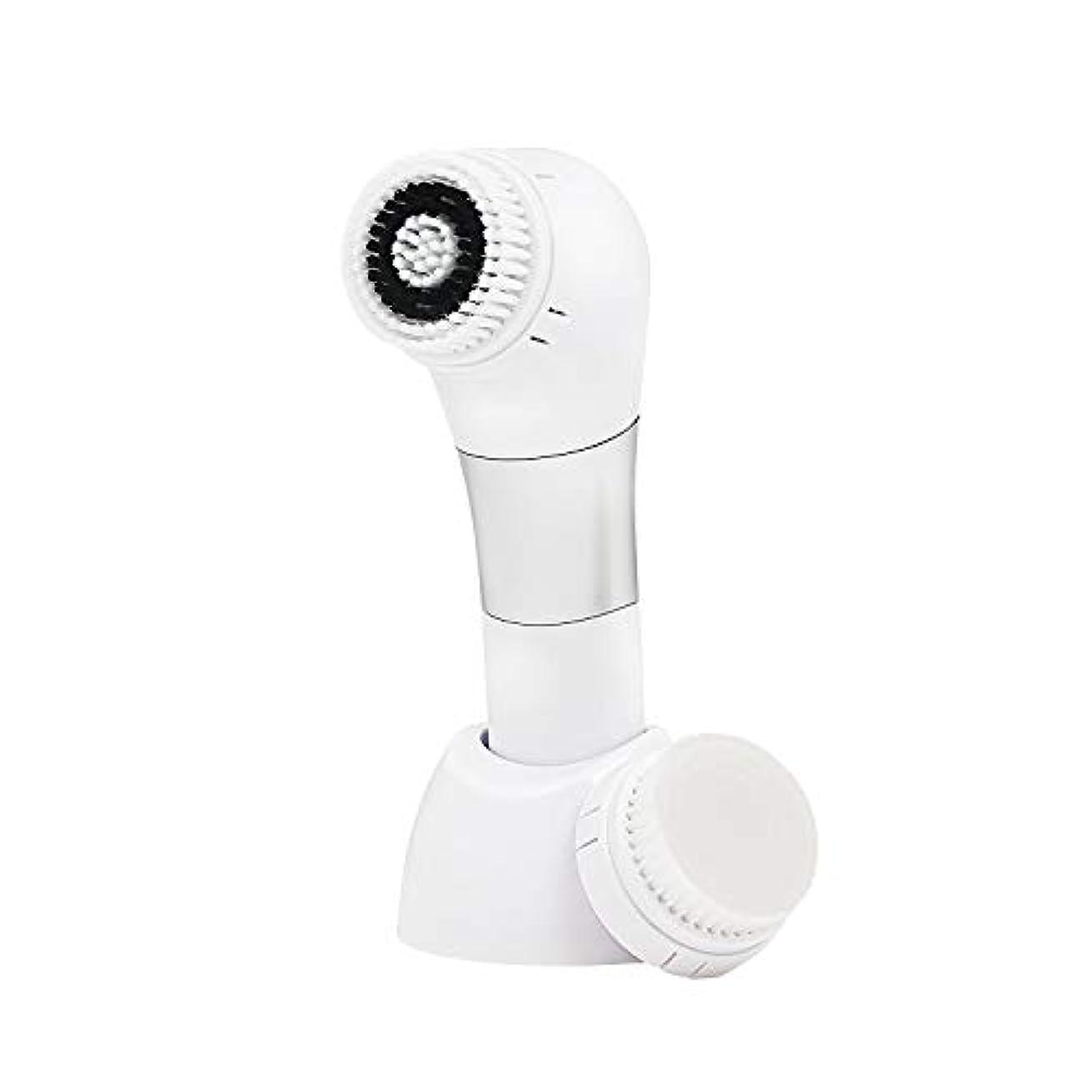 用語集インサートラックANX メンズ 音波 振動 洗顔ブラシ & 美顔器 ソニックウォッシュ やわらか 洗顔ブラシ 角質 ケアブラシ 付き 男性用