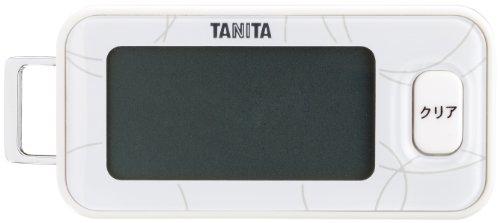 タニタ 3Dセンサー搭載歩数計 シロ FB-731-WH(1台)
