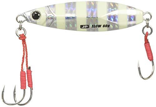 ジグパラ ショアスローモデル 30g ゼブラグロー