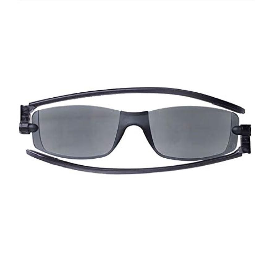 多様性一般化するアレルギー性男性女性用老眼鏡折りたたみ式テンプル、シンプルでスタイリッシュなUV耐性PCレンズフレームなし軽量設計+ 1.0、+ 2.0、+ 3.0