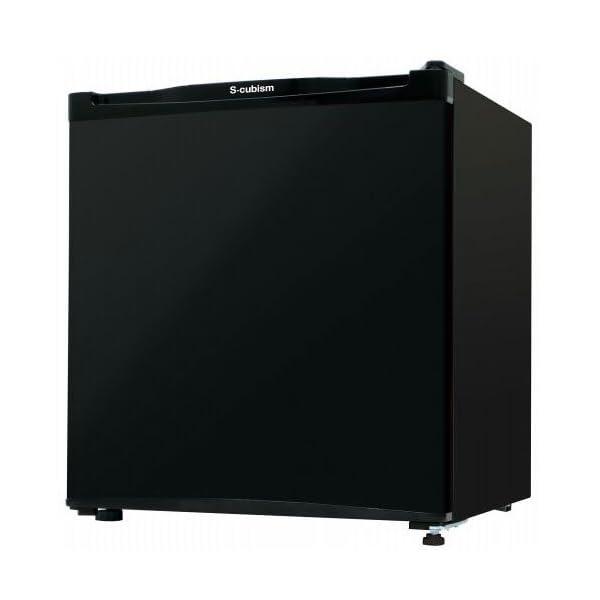 エスキュービズム 1ドア冷凍庫 ブラック 32L...の商品画像