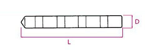 旭化成 AsahiKASEI サンコー 旭化成ケミカルMUアンカー 打込み型 MU-16 1本 169-9504