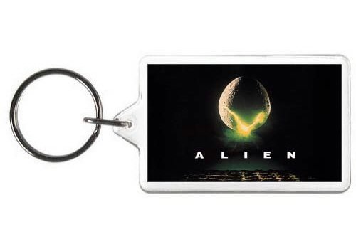 Alien Keychain Horror Movie Key Tag by N2 [並行輸入品] NN