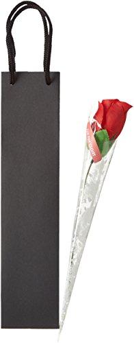 ホワイトデー 赤いバラ Tバック パンティー サプライズ 薔薇 一輪 ショーツ そのまますぐ渡せる紙袋付き ワインボトル用ギフトパッケージセット