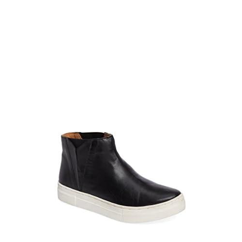 セイシェルズ シューズ スニーカー Seychelles Set Platform Sneaker (Women) Black Leat [並行輸入品]