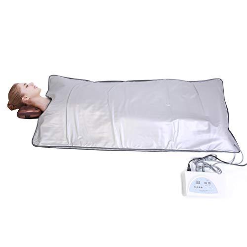 遠赤外線寝袋サウナ - Delaman サウナ 蒸す、温度管理、ベルクロ 設計、エネルギー、蒸し袋、サウナブランケット
