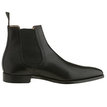 Woodstock: Black Burnished Calf