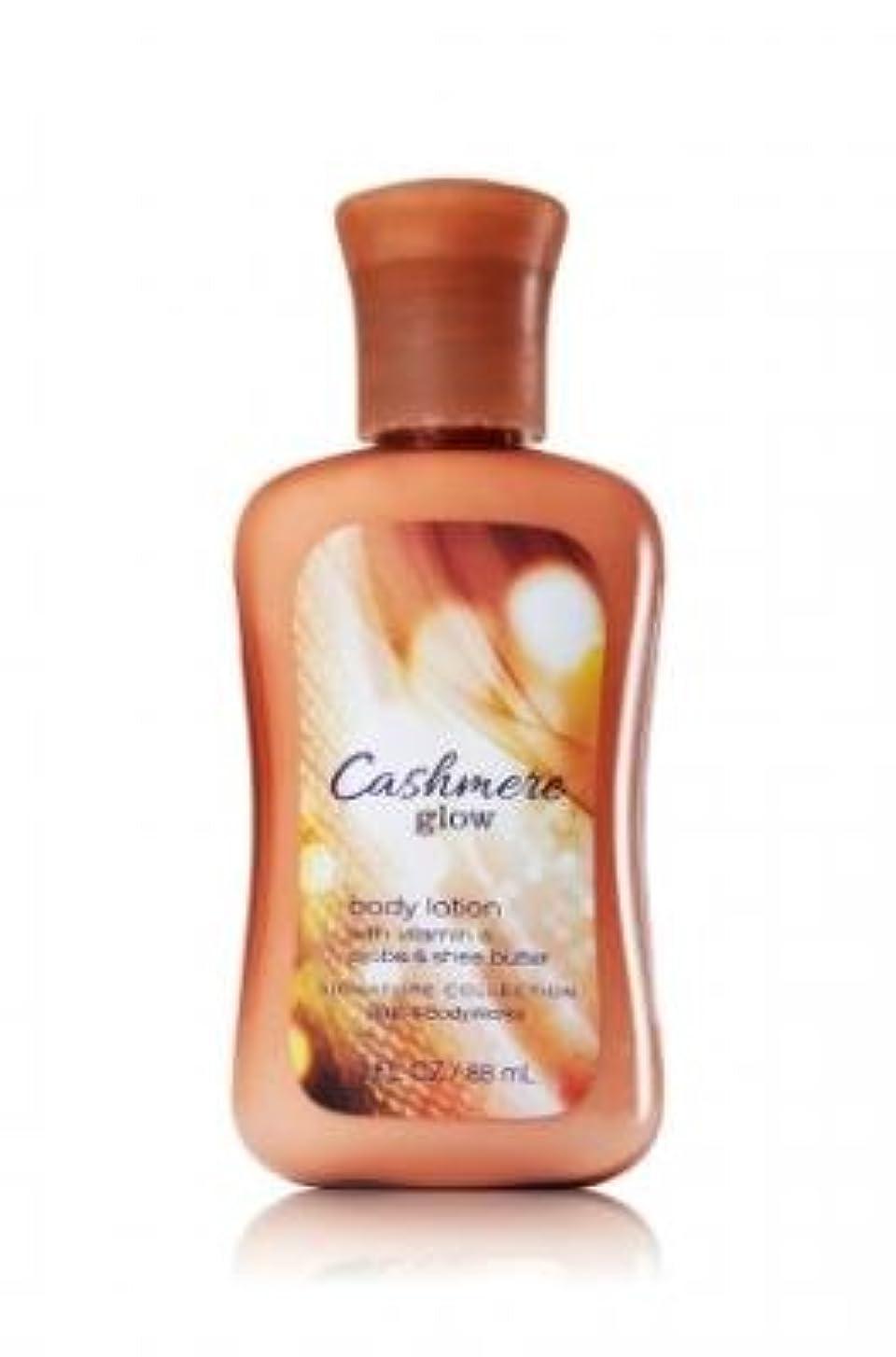 ペチコート準備した代理店Bath & Body Works ミニ ボディーローション- Cashmere Glow*????????【並行輸入品】