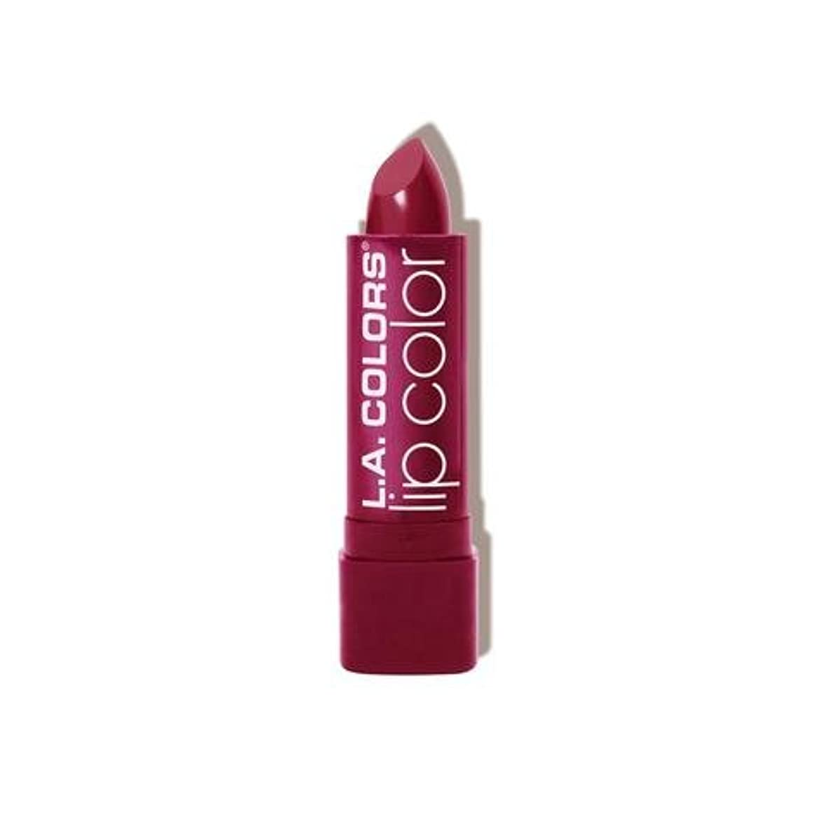 ソート母音独裁(3 Pack) L.A. COLORS Moisture Rich Lip Color - Envy (並行輸入品)