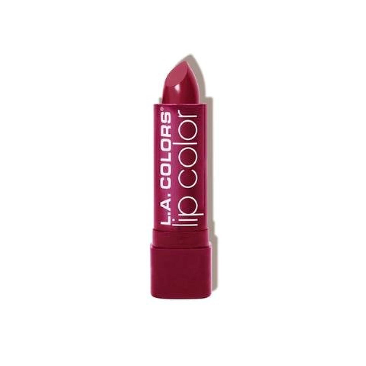 疑い者明確に脅迫(3 Pack) L.A. COLORS Moisture Rich Lip Color - Envy (並行輸入品)