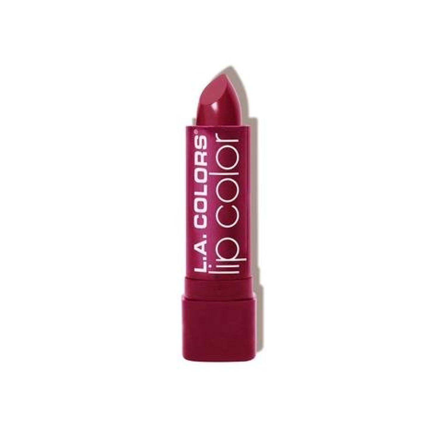 星テスト首相(3 Pack) L.A. COLORS Moisture Rich Lip Color - Envy (並行輸入品)