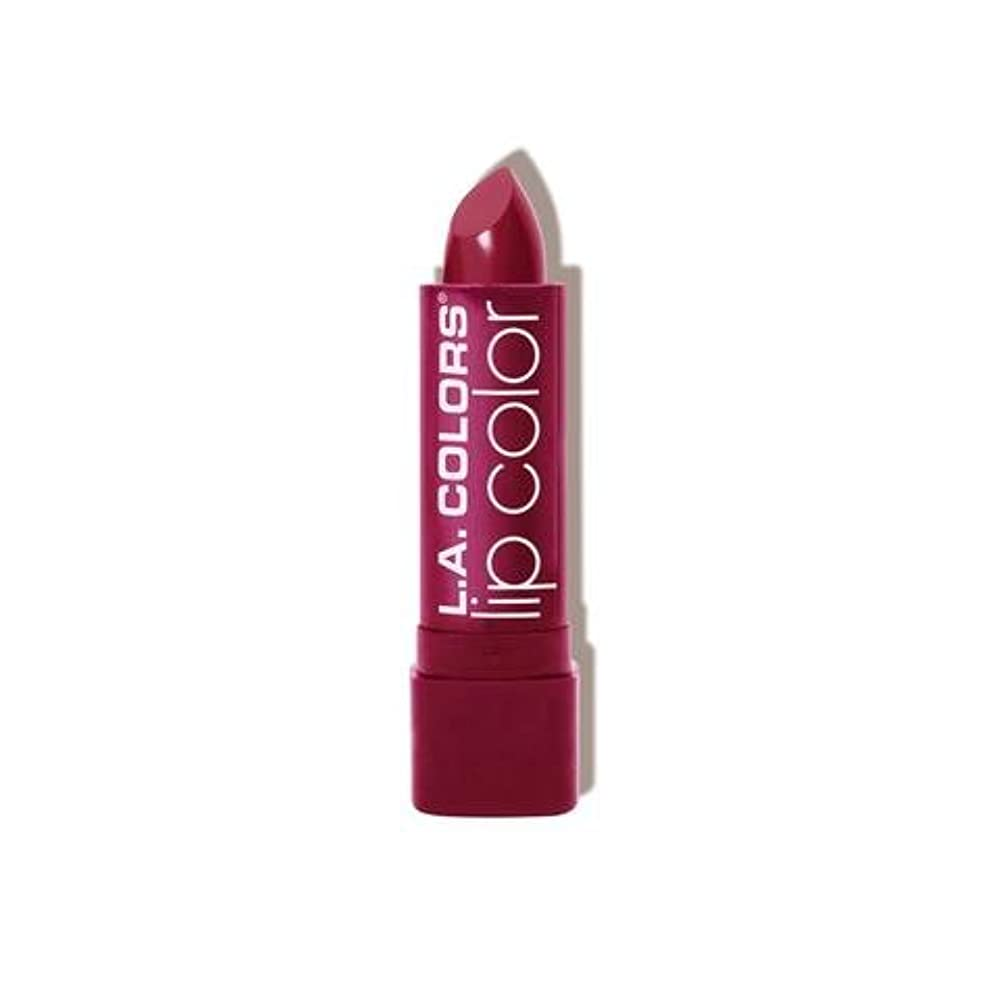 単なる信頼できる小川(3 Pack) L.A. COLORS Moisture Rich Lip Color - Envy (並行輸入品)