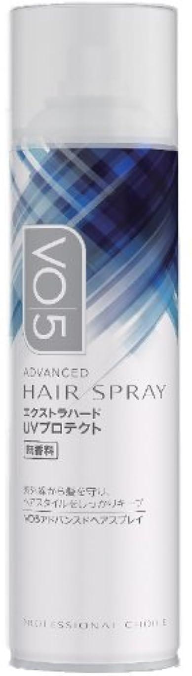 襟ジャニス葉を集めるVO5 アドバンスドヘアスプレイ (エクストラハード) UVプロテクト 無香料 160g