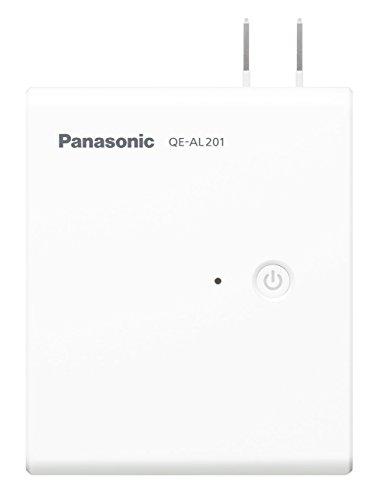 パナソニック モバイルバッテリー搭載AC急速充電器 5,000mAh ホワイト QE-AL201-W