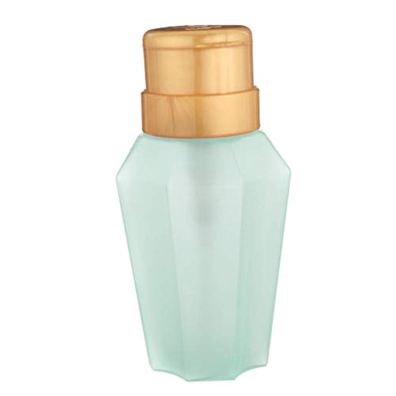 数学的な陰気暫定ポンプボトル 詰替え容器 プレスボトル ディスペンサーボトル 200ML こぼれ防止 防錆 無毒 全2色 - 緑