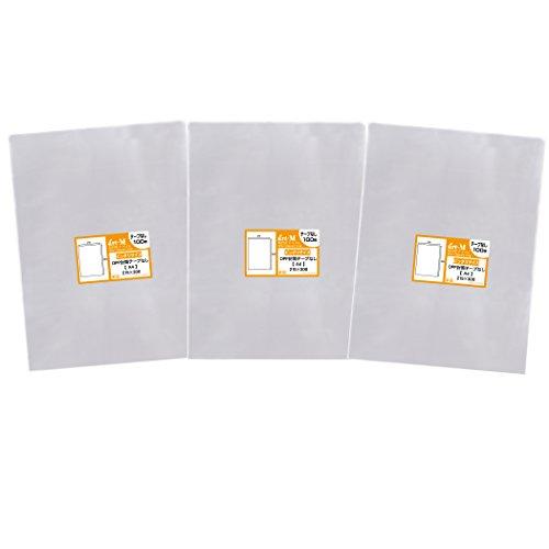 [해외]국산 테이프없이 A4 딱 맞는 사이즈 투명 OPP 봉투 (투명 봉투) 300 매 30 미크론 두께 (표준) 215x300mm/Domestic production tape none A4 Perfect size transparent OPP bag (transparent envelope) 300 sheets 30 micron thickness (standard) 2...