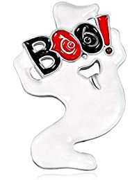 Manyao ハロウィーンブローチゴーストラペル新年バックパックジュエリーバッジ宴会ピンプレゼント