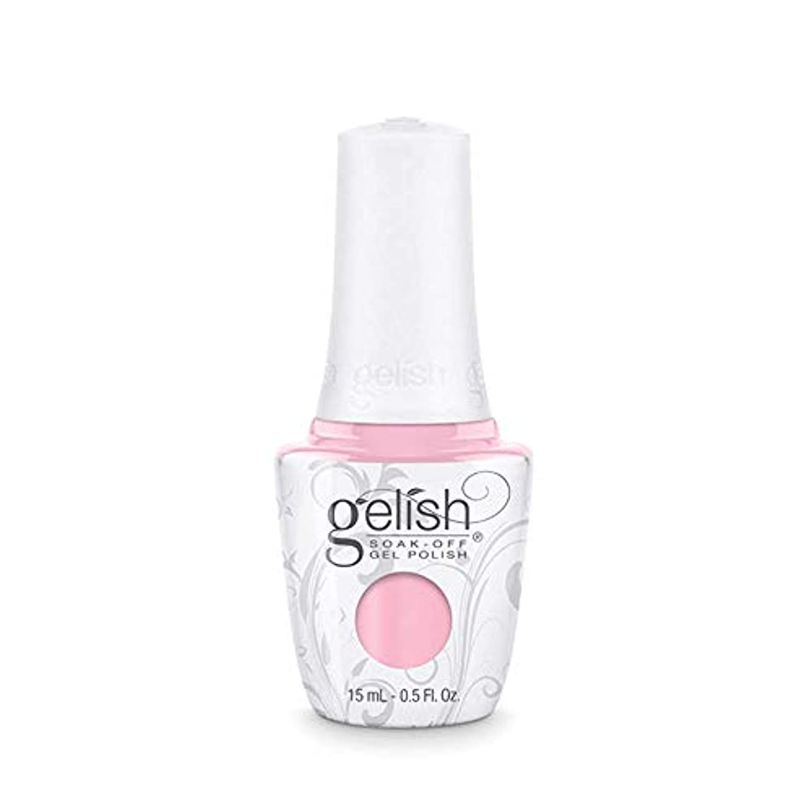 クリアタンク毛細血管Harmony Gelish Gel Polish - Pink Smoothie - 0.5oz / 15ml