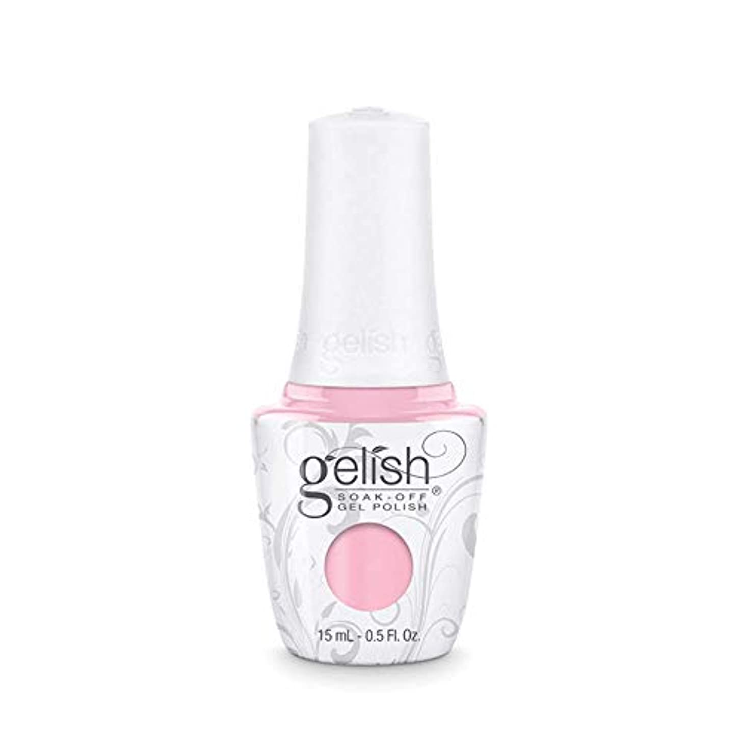 ピラミッド縮約テクニカルHarmony Gelish Gel Polish - Pink Smoothie - 0.5oz / 15ml