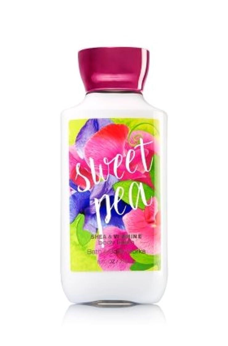 ミシンオーストラリア人【Bath&Body Works/バス&ボディワークス】 ボディローション スイートピー Body Lotion Sweet Pea 8 fl oz / 236 mL [並行輸入品]