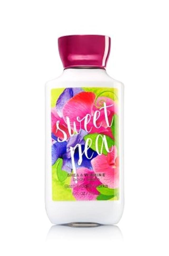 分布母性思春期の【Bath&Body Works/バス&ボディワークス】 ボディローション スイートピー Body Lotion Sweet Pea 8 fl oz / 236 mL [並行輸入品]