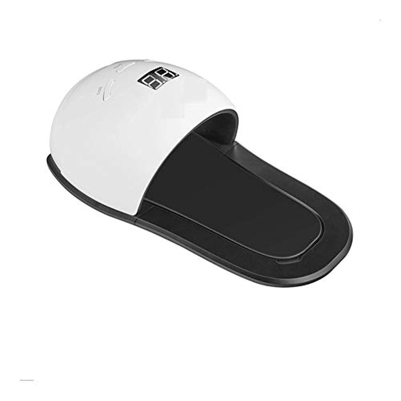 広告する見物人意気消沈したLittleCat 指で軽く足ネイルトリートメントマシン48W LEDランプネイルネイルUVランプ (色 : American standard flat plug)