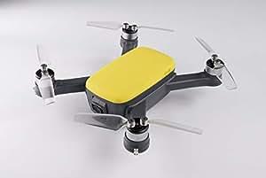 【限定先行予約中】K-ONE. EieR アイラ KE-913 初心者 GPS トイドローン 200g 未満 カメラ付 ブラシレス 500万画素 16分以上(2.4GHz 黄)