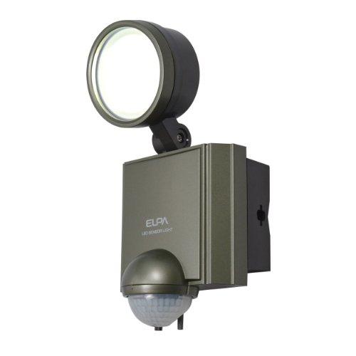 エルパ 屋外用センサーライト AC電源 6wLED 1灯 ESL-601AC(1台)