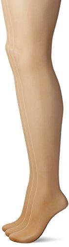 (アツギ)ATSUGI ストッキング 70周年記念ミラキャラット 伝線しにくい キレイ脚 ストッキング 〈3足セット〉 FP15003P 357 スキニーベージュ M~L