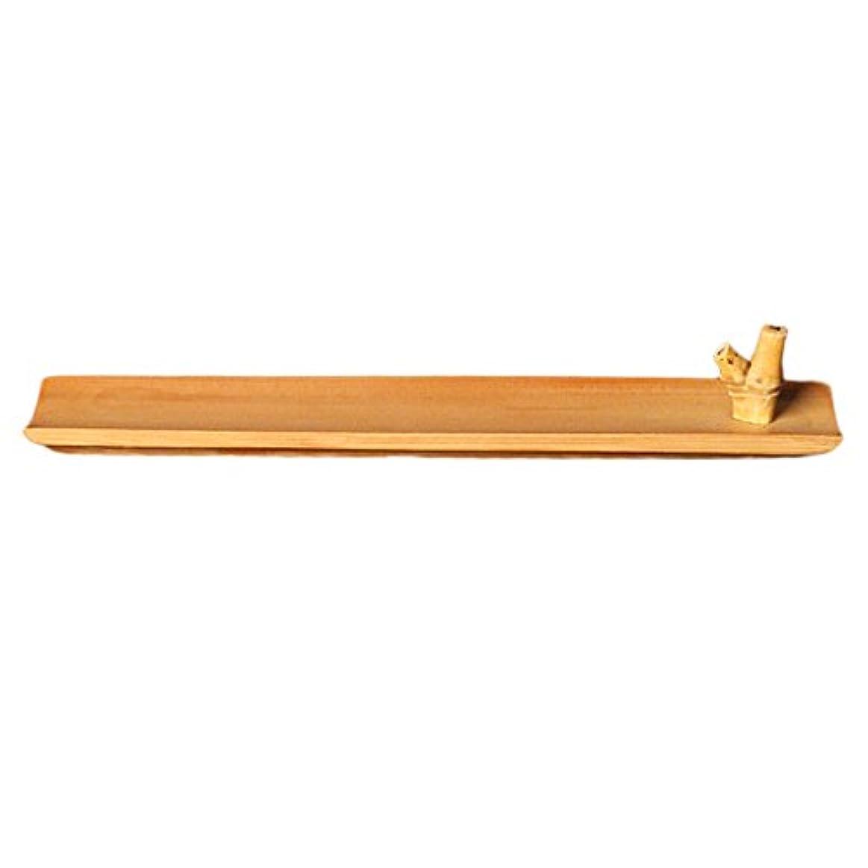 ライフル作ります竹 お香立て スティック 香 ホルダー バーナースティック 手作り 工芸品 24センチメートル ヨガ、レイキ、マッサージ、太極拳、瞑想の愛好家に最適